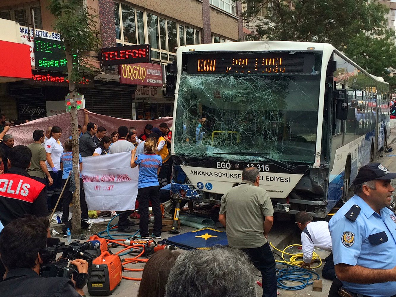 Ankara'daki otobüs katliamında iddianame hazırlandı