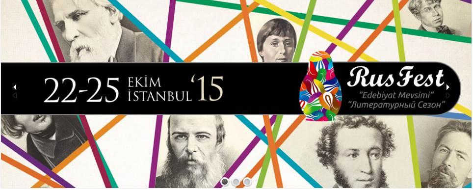 """RusFest 2015 """"Edebiyat Mevsimi"""""""