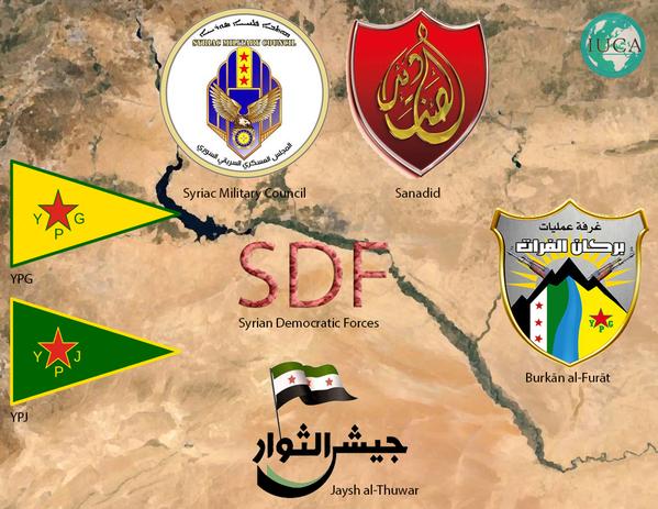 Suriye'de ABD Desteğiyle