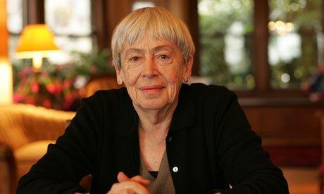 Ursula Le Guin... Nice yaşlara büyücü kraliçe!