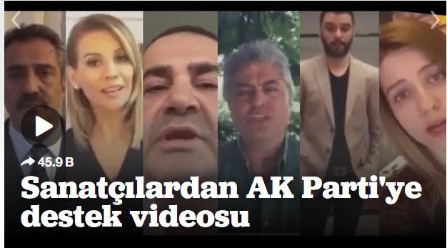 Yavuz Bingöl ve Şafak Sezer AKP'ye oy istiyor