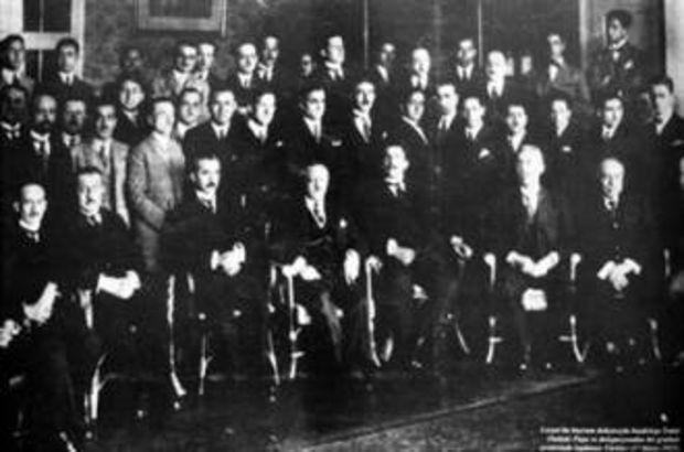 22 Ekim 1919 - Amasya Protokolü imzalandı.