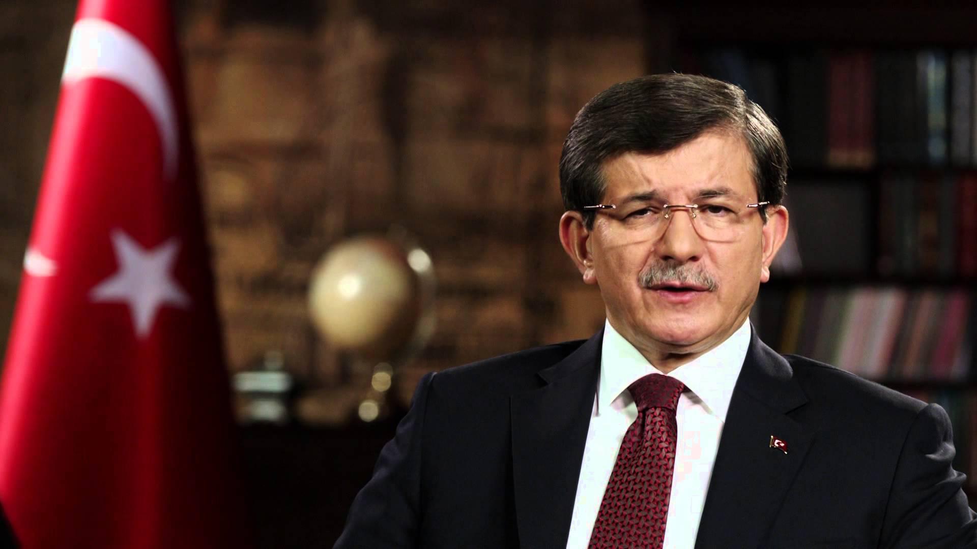 Davutoğlu #Taksim saldırısından saatler sonra açıklama yaptı: Lanetliyorum, acı içindeyiz, mücadelemiz sürecek