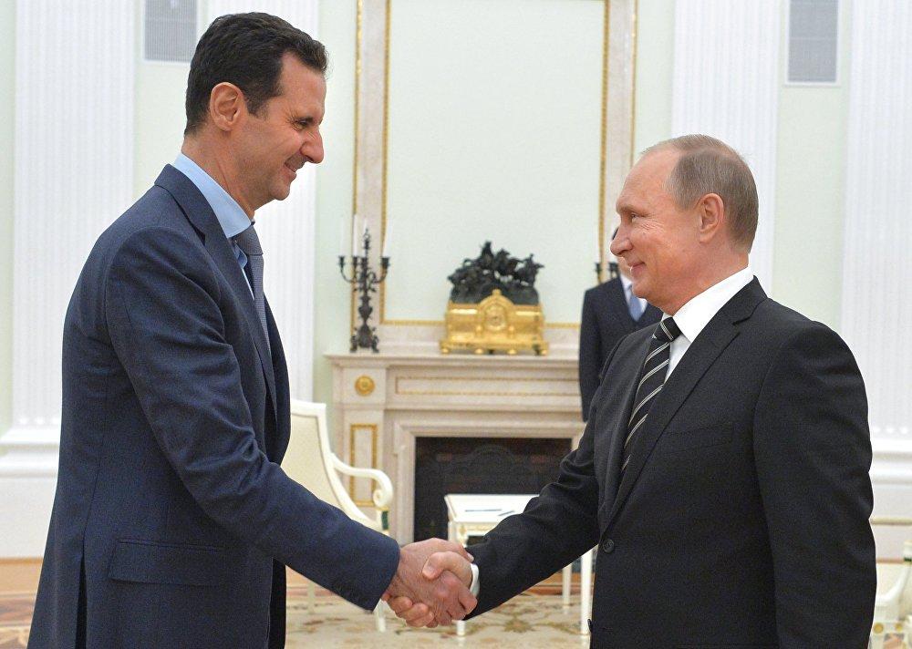 Esad, Putin'i Moskova'da ziyaret etti: Siyasi sürece mi giriliyor?