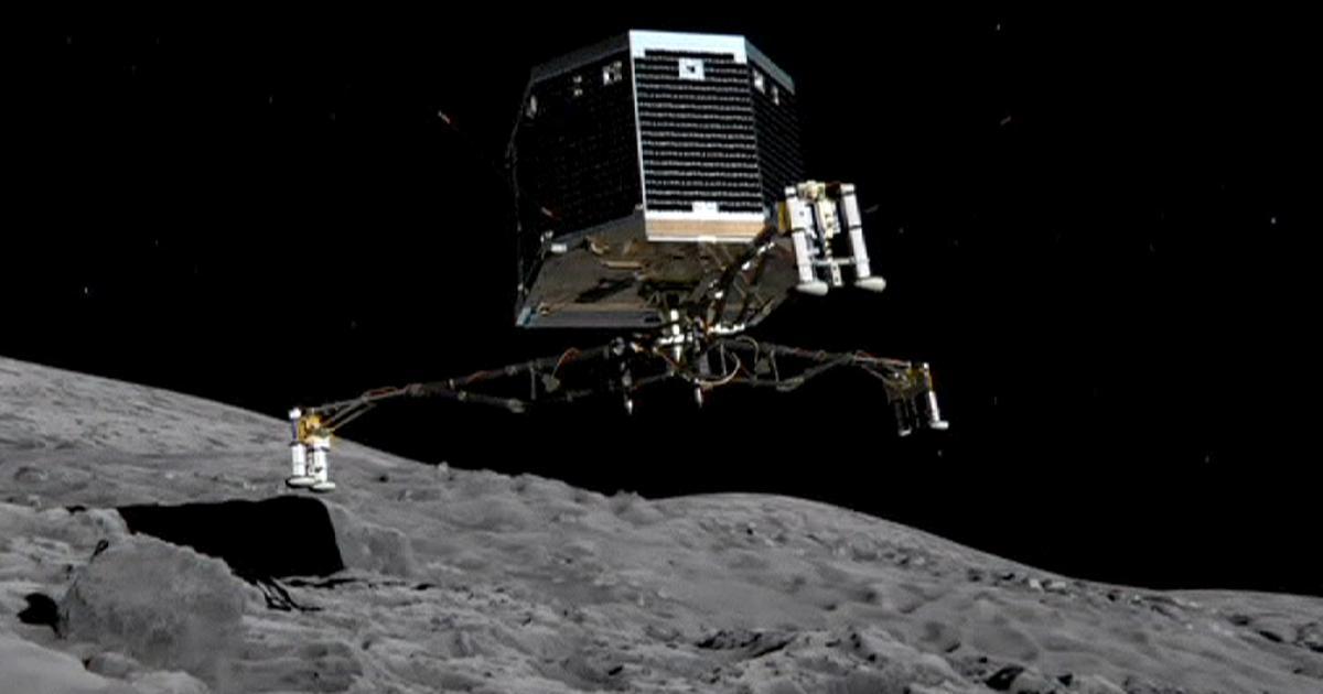 Rosetta uzayda oksijen keşfetti