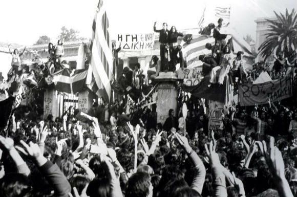 17 Kasım 1973 Yunanistan'da Politeknik direnişi.