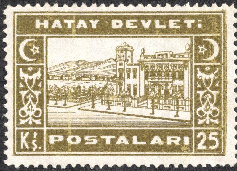 29 Kasım 1937 - Hatay bölgesinde bağımsız rejim yürürlüğe girdi