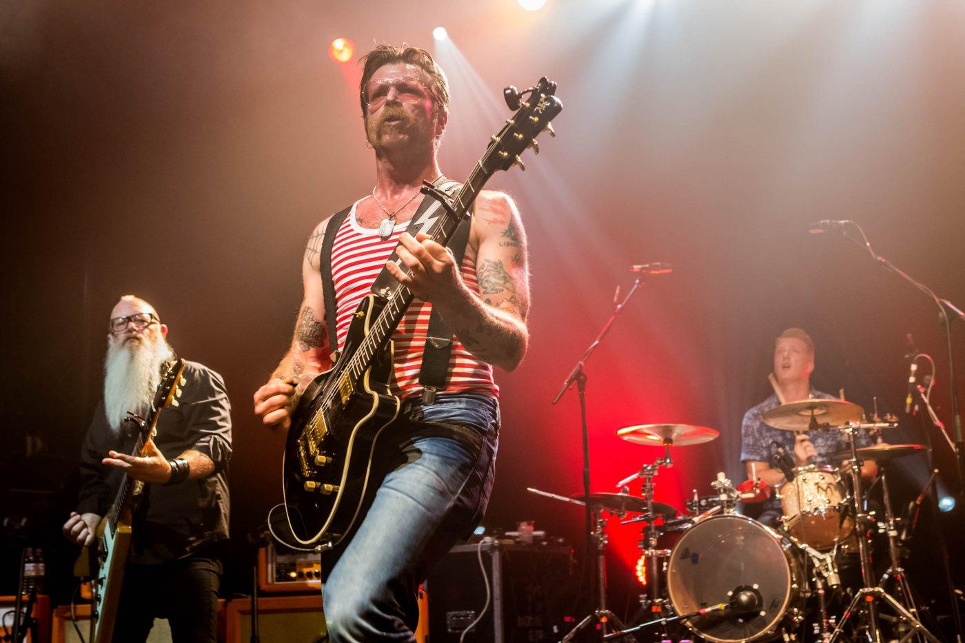 Eagles of Death Metal  Bataclan'da yine sahne almak istiyor