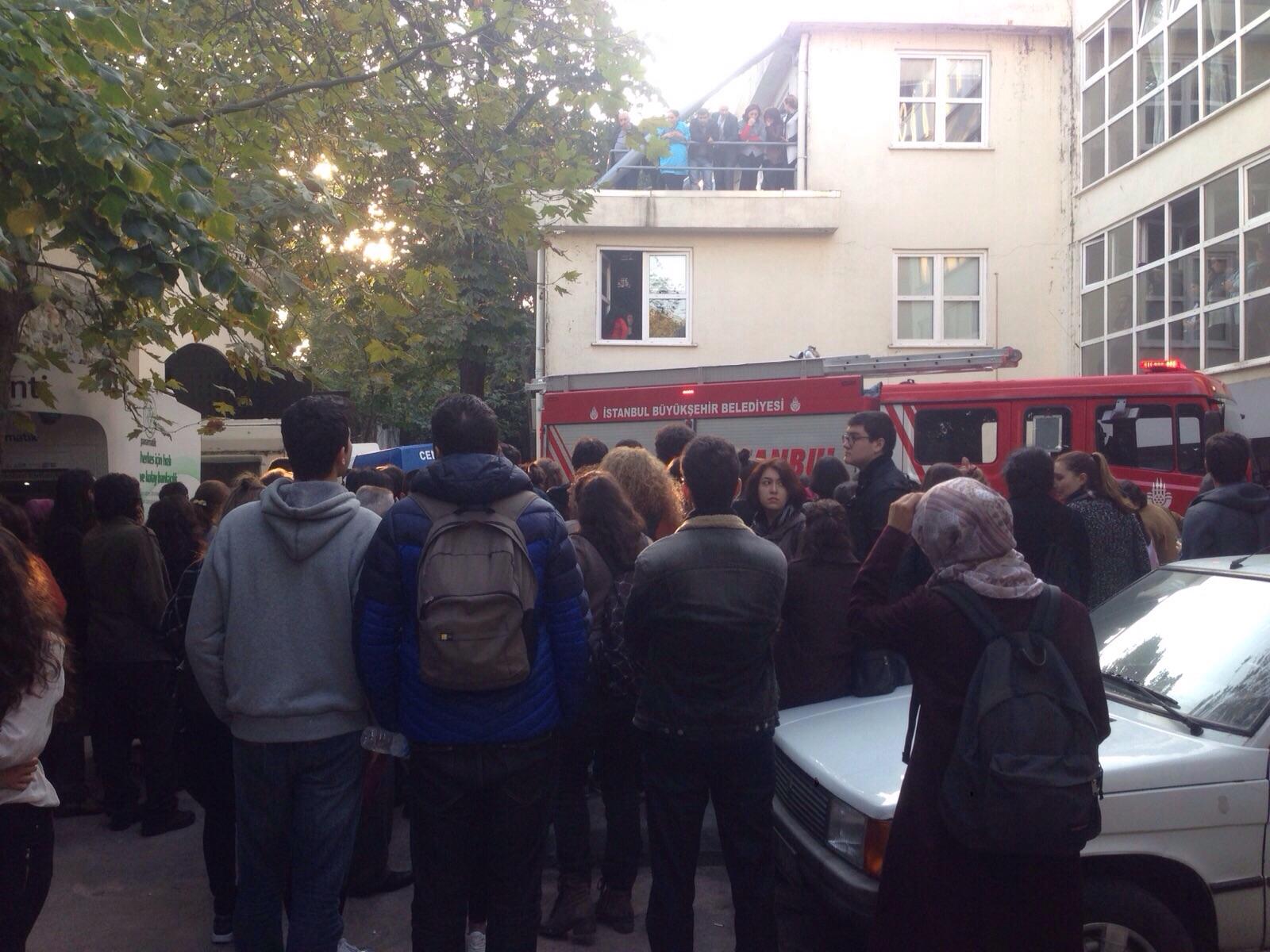 Galatasaray Üniversitesi'nde iş cinayeti