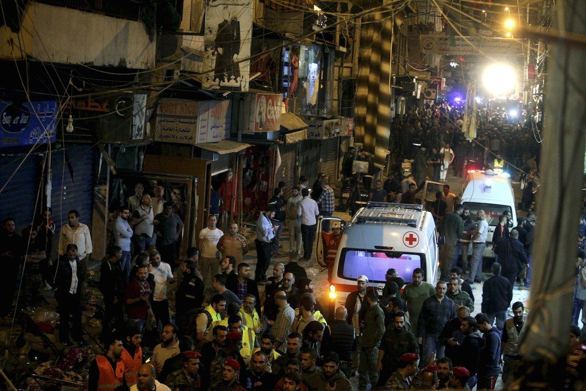 IŞİD Beyrut'u kana buladı