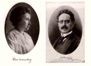 Rosa Luxemburg ve Karl Liebknecht