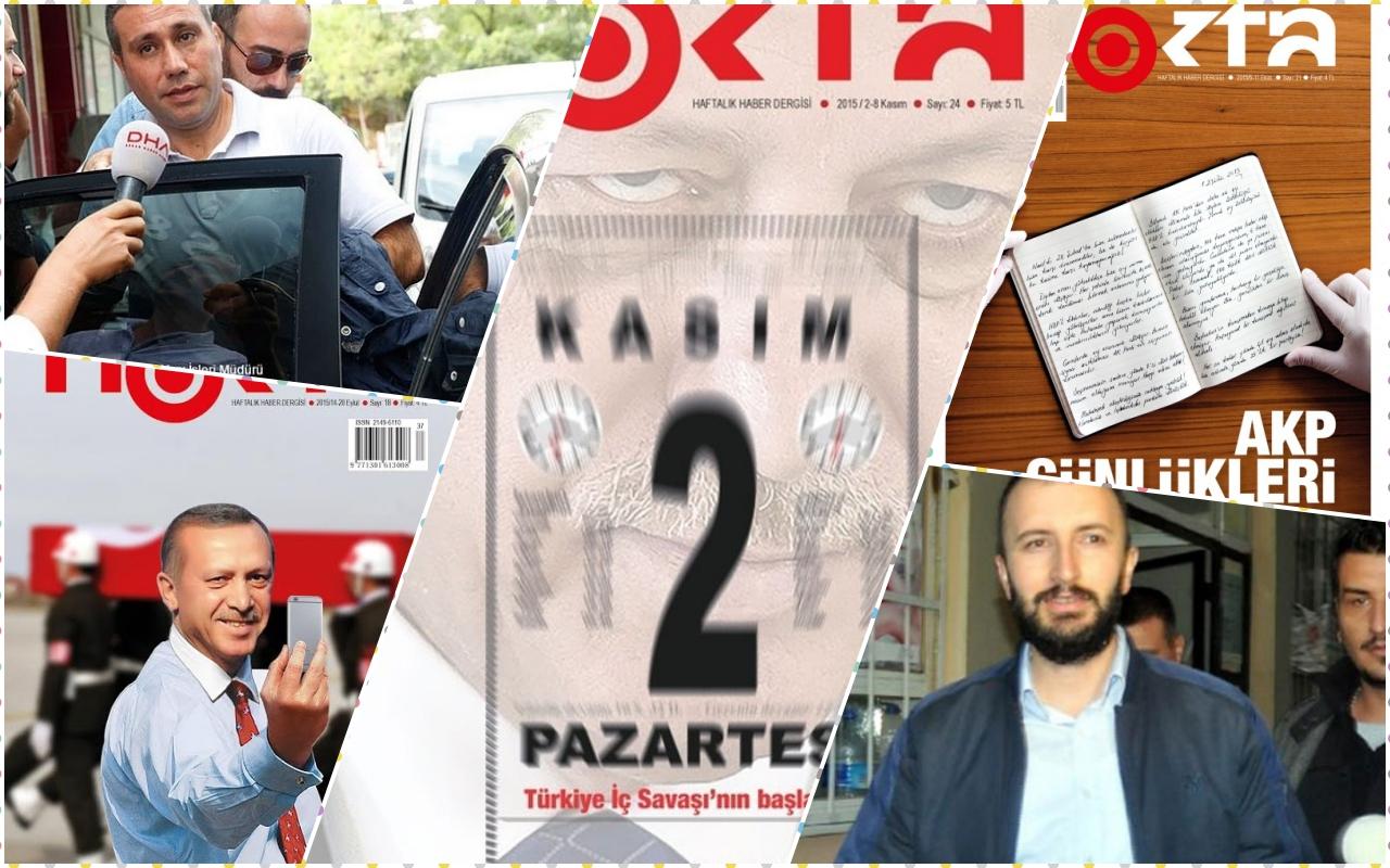 Nokta dergisi yöneticilerine 20 yıl hapis istemi