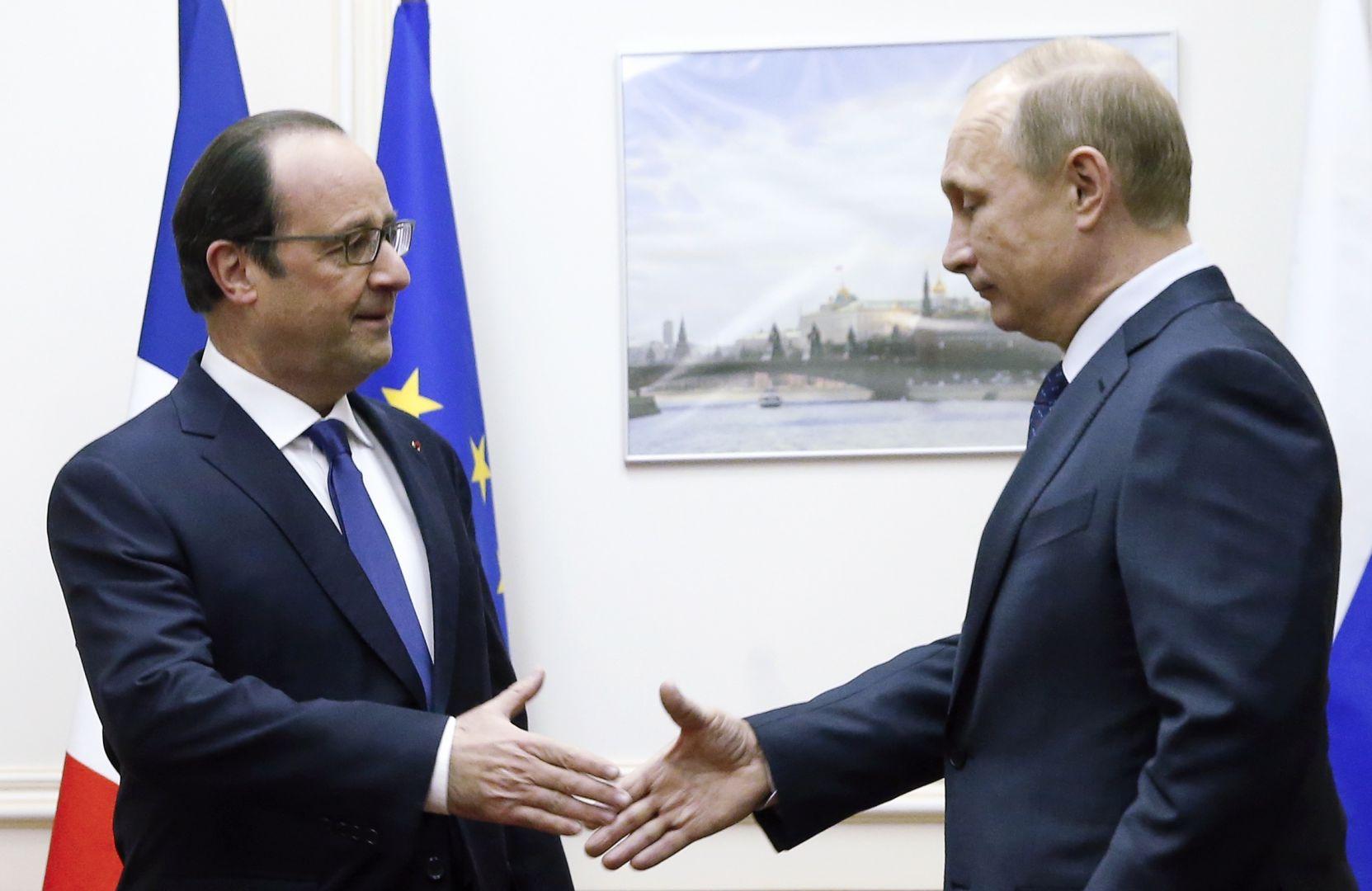 IŞİD'e karşı Rusya ve Fransa işbirliği