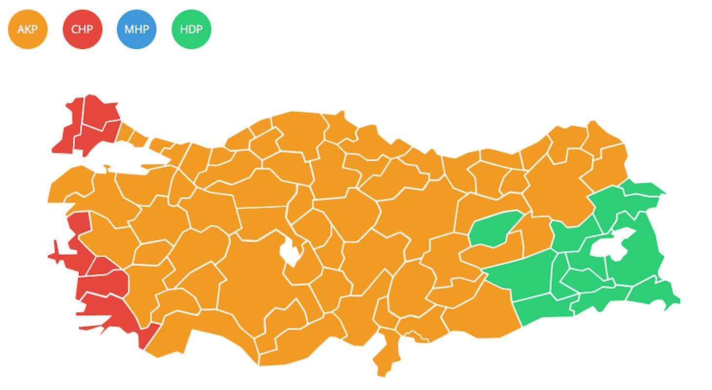 YSK, resmi seçim sonuçlarını açıkladı
