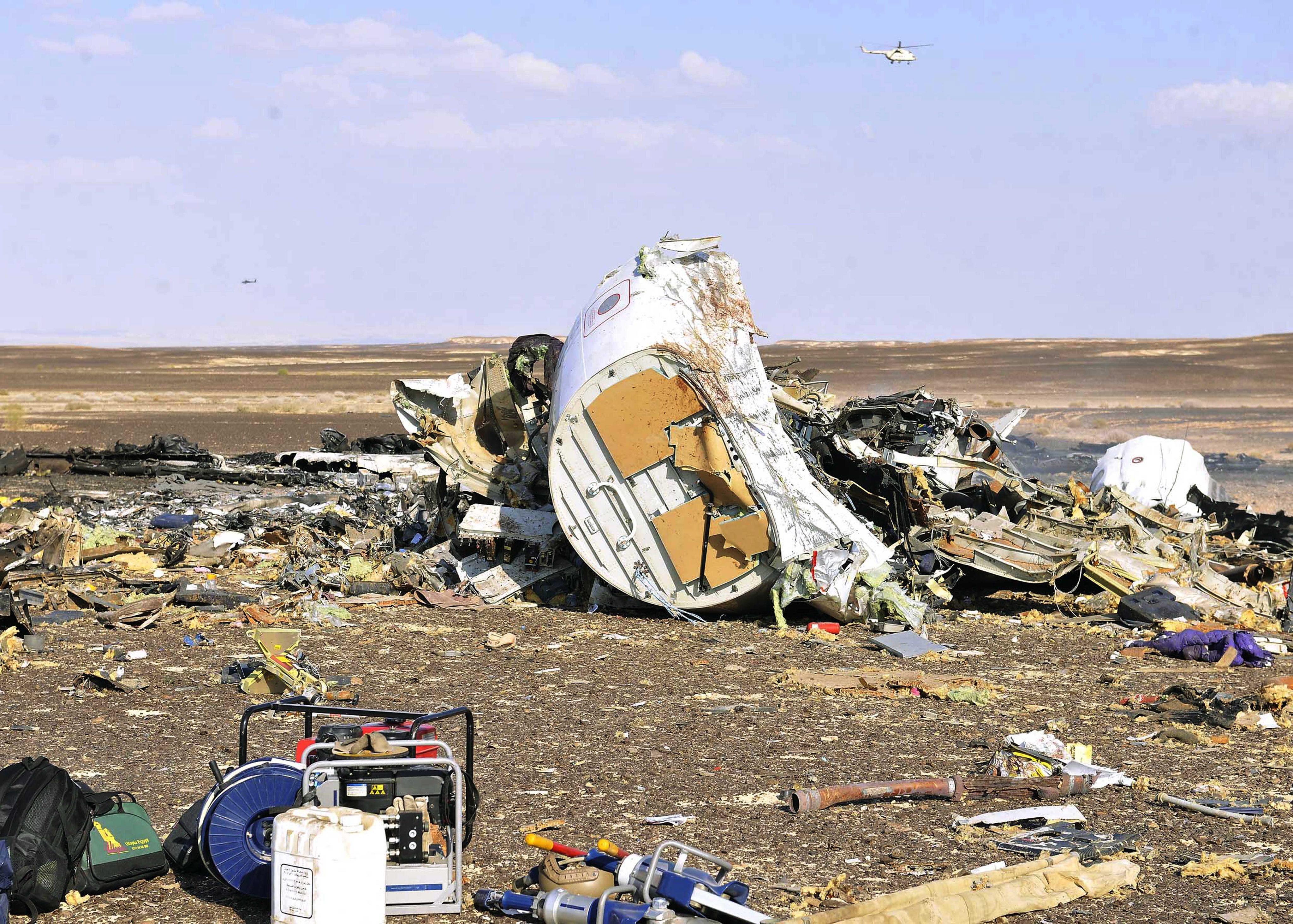Rusya: Uçak terör saldırısı sonucunda düştü