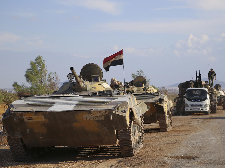 Suriye Lazkiye kırsalında ilerliyor