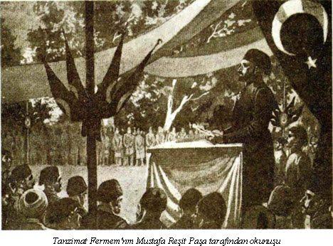 3 Kasım 1839 - Tanziman Fermanı ya da bir diğer adıyla Gülhane-i Hattı Hümayunu Gülhane Parkı'nda okundu.