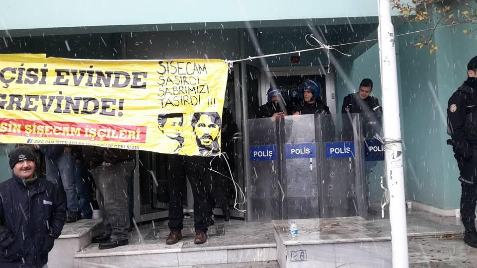 VİDEO | Şişecam işçilerine saldırı