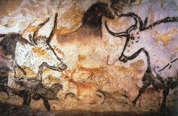 Lascaux Mağarası; yaklaşık M.Ö. 15000