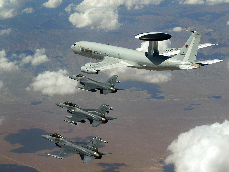 Türkiye'nin hava sahasına NATO işgali