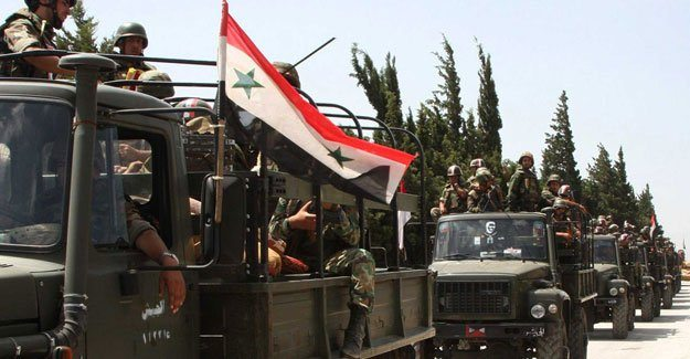 Suriye Ordusundan Bayırbucak'a kara harekâtı