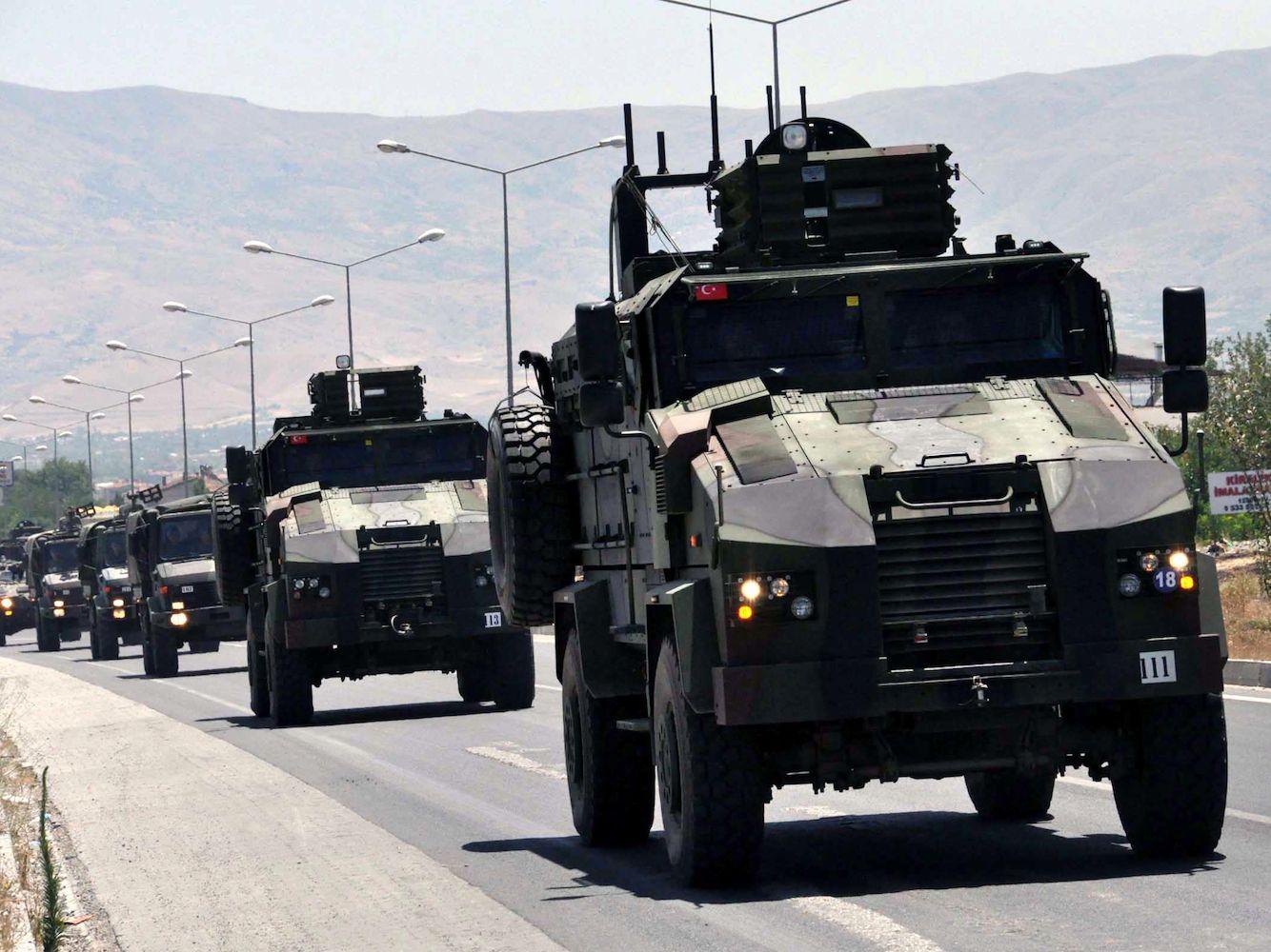 Askeri yığınak artarken PKK'ye yönelik operasyonlar sürüyor