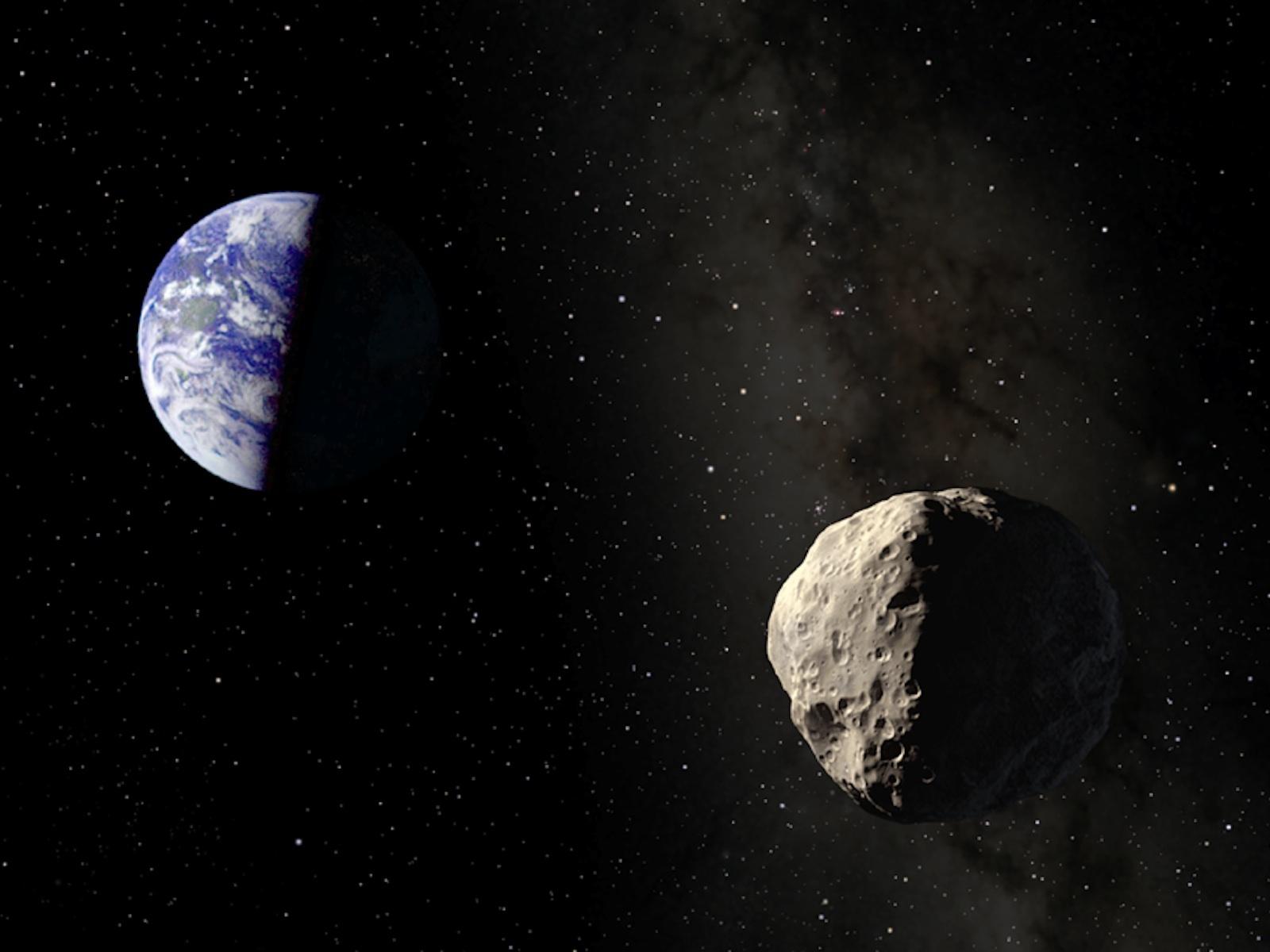 2 km'lik asteroidin Dünya ile dansı