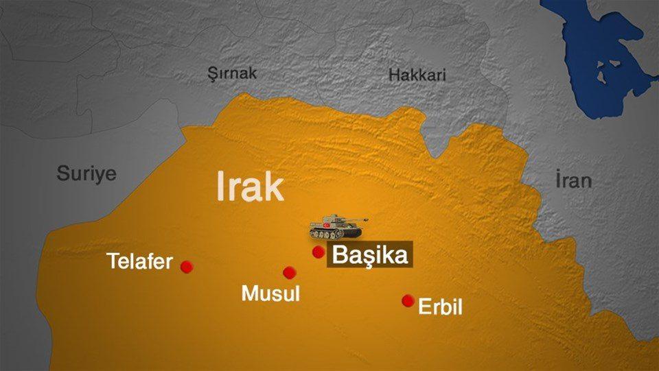 Başika'da bir Türkiye askeri hayatını kaybetti