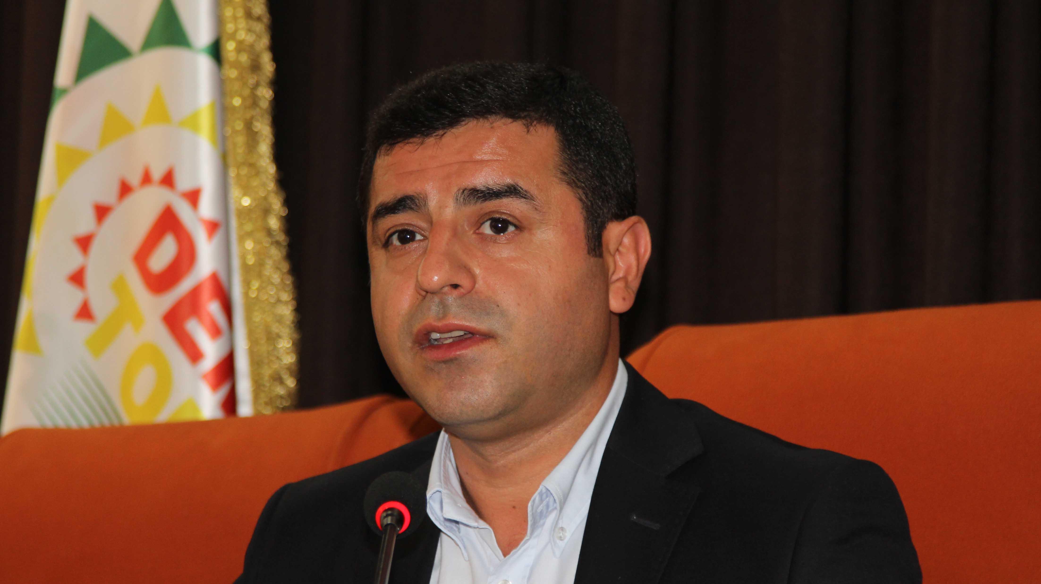 Demirtaş partisinin başkanlık kararını açıkladı