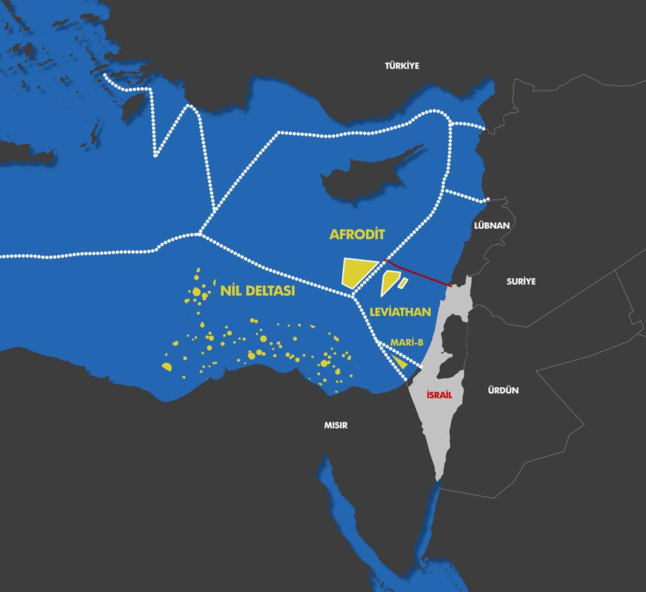 İsrail doğalgazı patronları iştahlandırdı