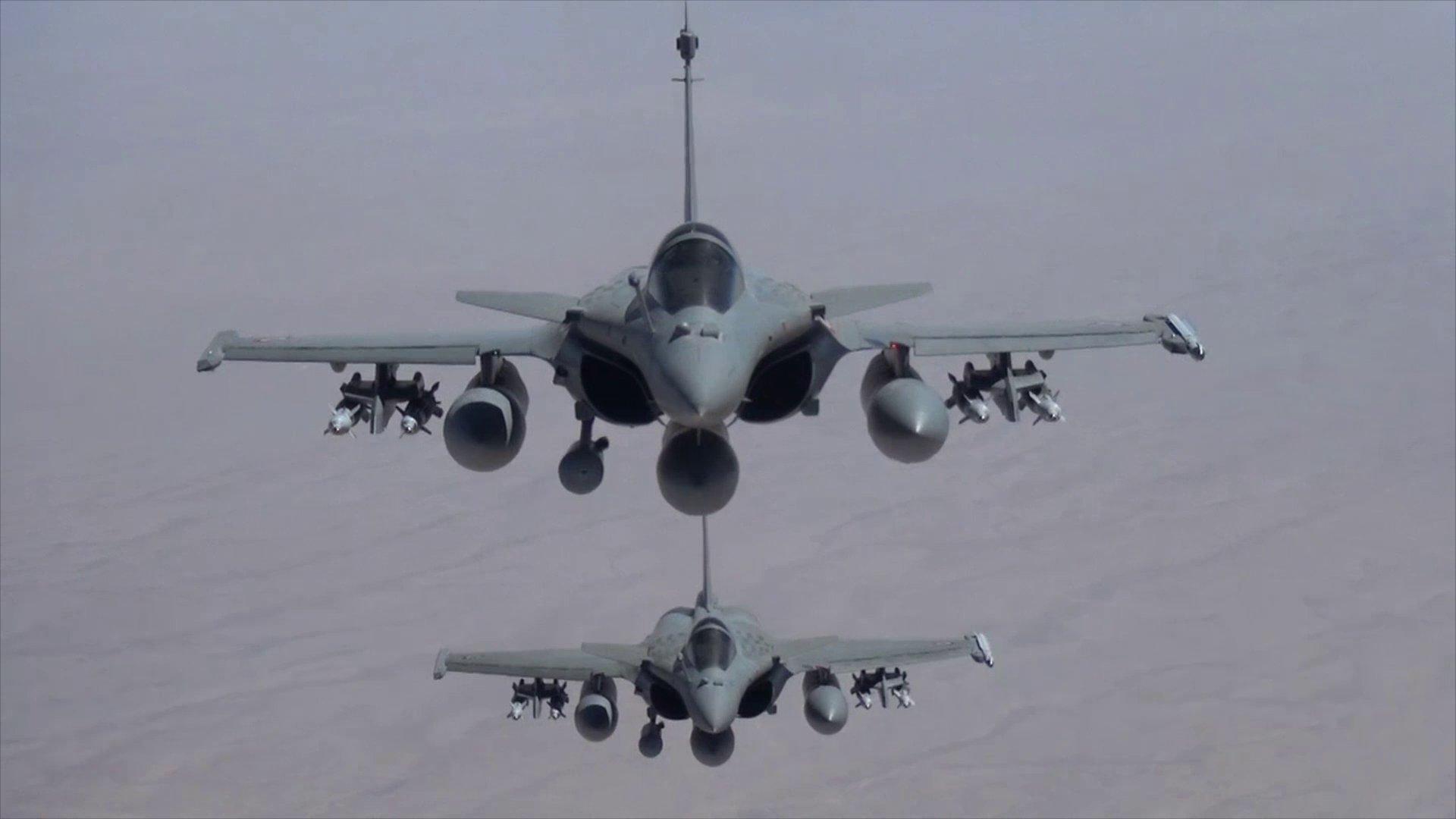 Koalisyon güçlerinden IŞİD'e hava desteği