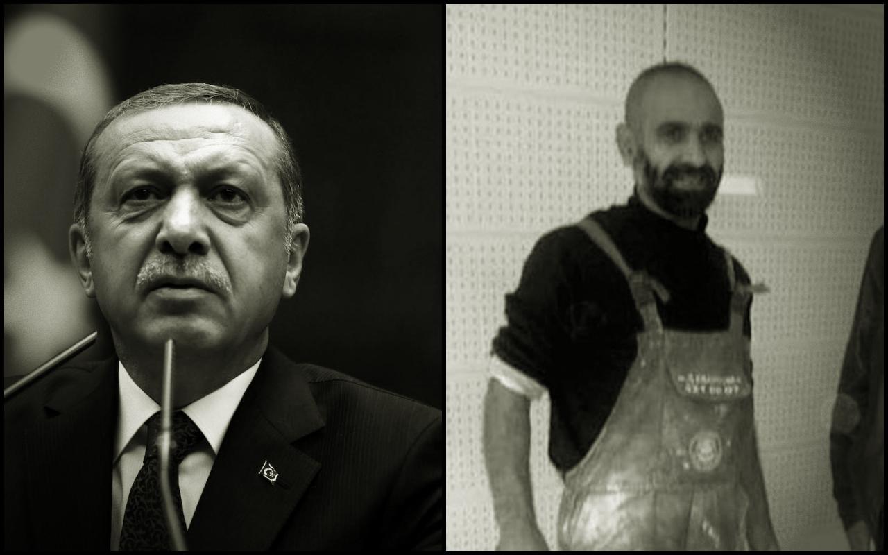 İnşaat işçisine'Erdoğan' tutuklaması