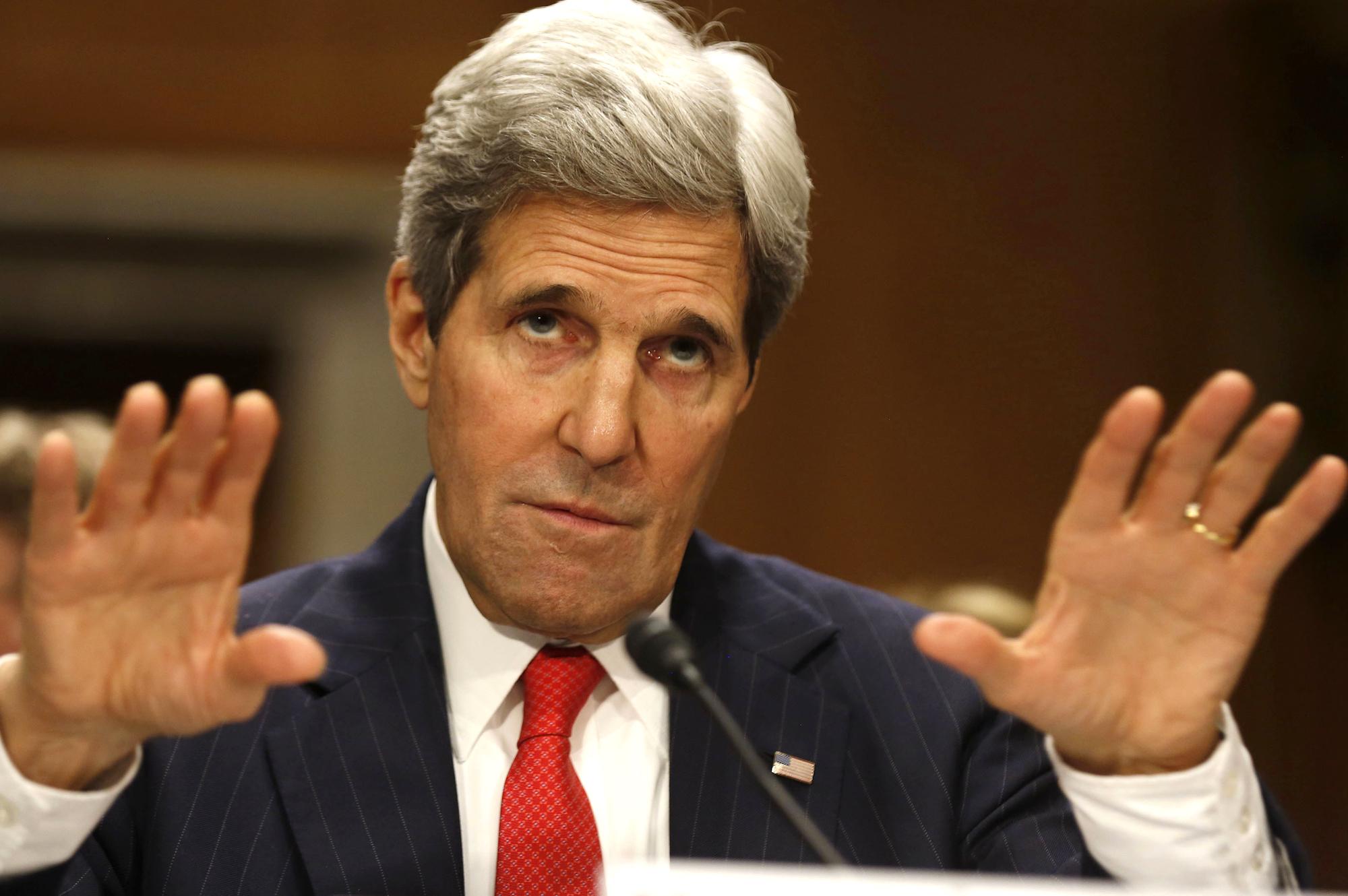 Kerry: Riyad görüşmelerinin sonucundan memnunuz