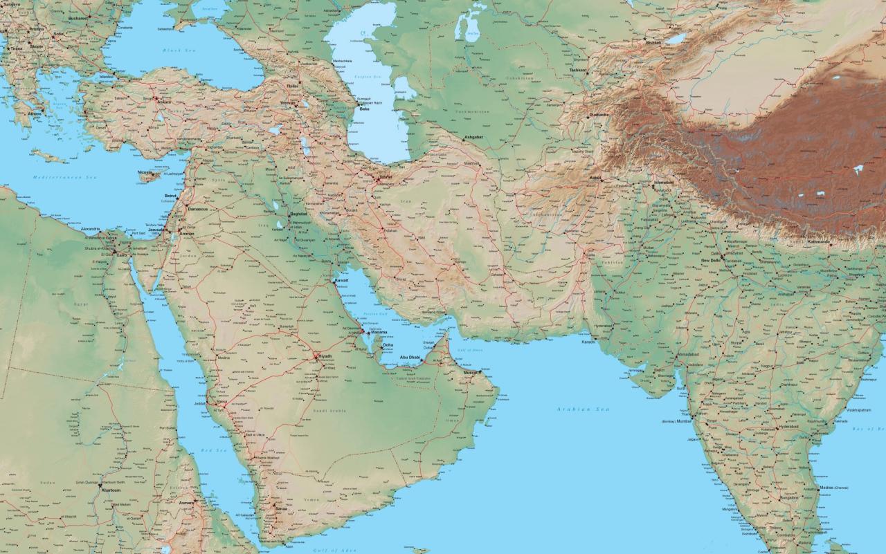 Emperyalistlerin'Ortadoğu'yu yeniden paylaşım planı' iddiası