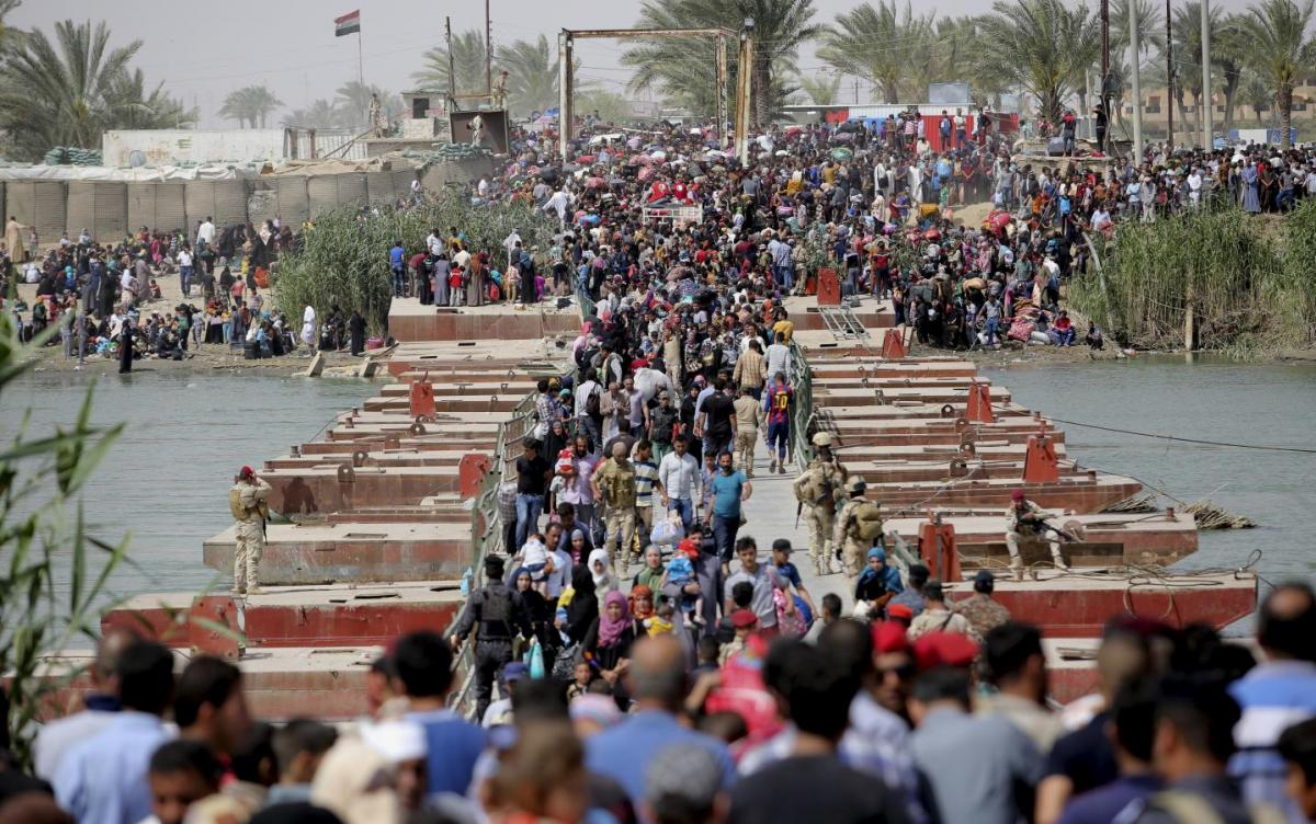 Irak Ordusu'ndan sivillere