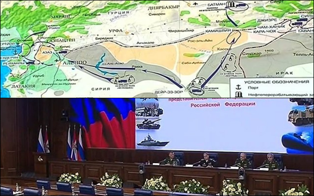 Rusya, IŞİD'in petrol ticaretinde Türkiye'nin rolüne ilişkin belgeleri açıkladı