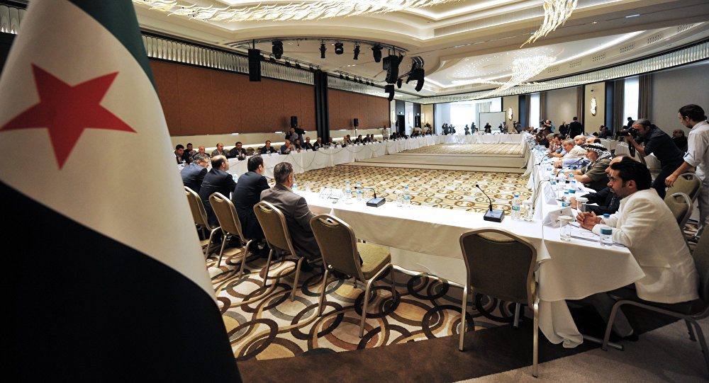 'Muhaliflere' ABD'nin baskısına karşı Türkiye desteği