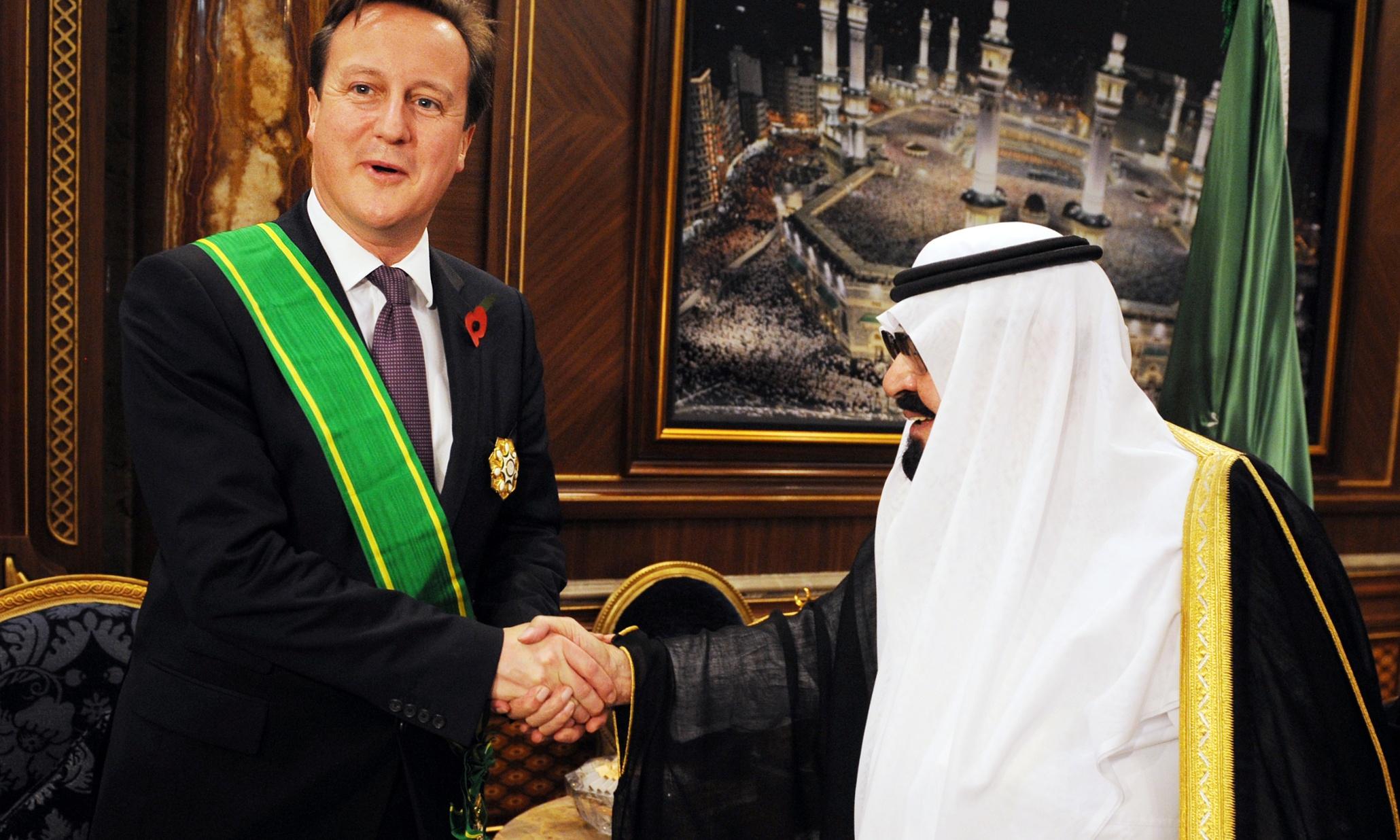 Silah ticaretinden insan haklarında rüşvete, Suudi Arabistan-İngiltere işbirliği