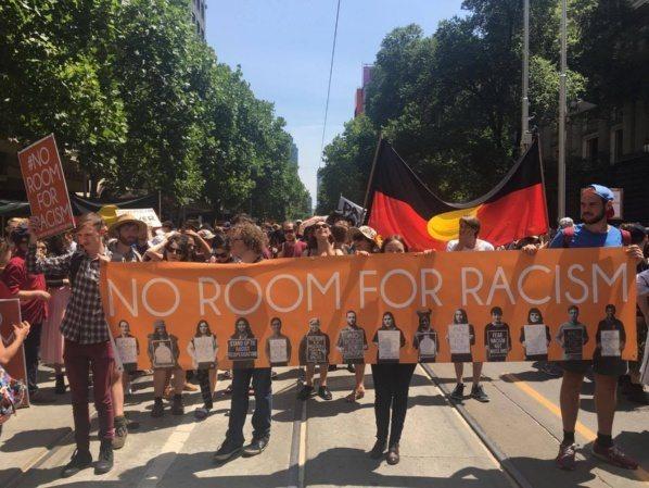 """Avustralya'da """"Avustralya Günü"""" Protestosu"""