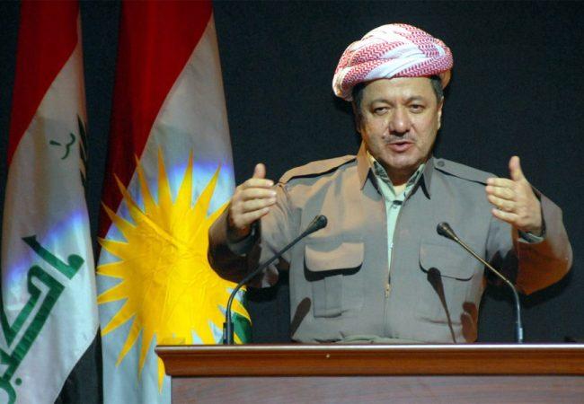 Barzani'den'Kürt devleti' çıkışı
