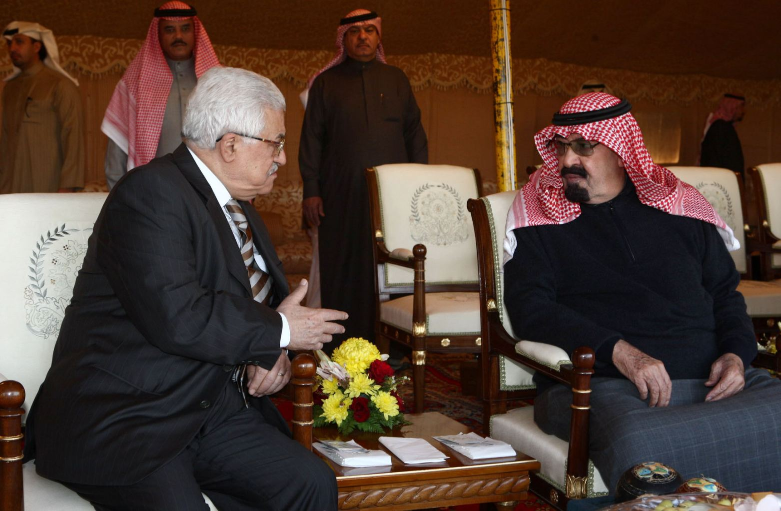 Mahmud Abbas: Suudi Arabistan'ın yanındayız