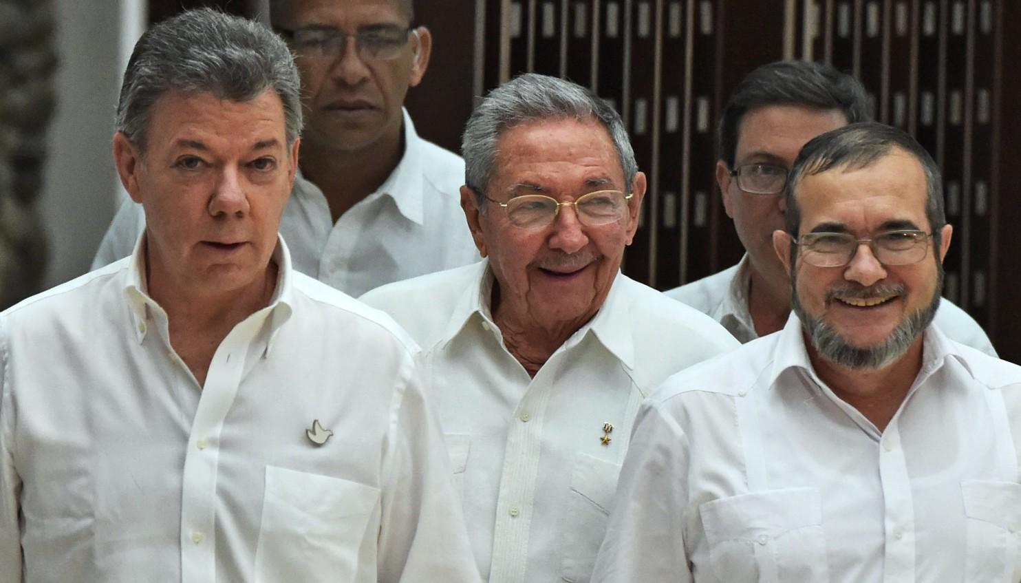 FARC ve Kolombiya Hükümeti arasında barış görüşmeleri