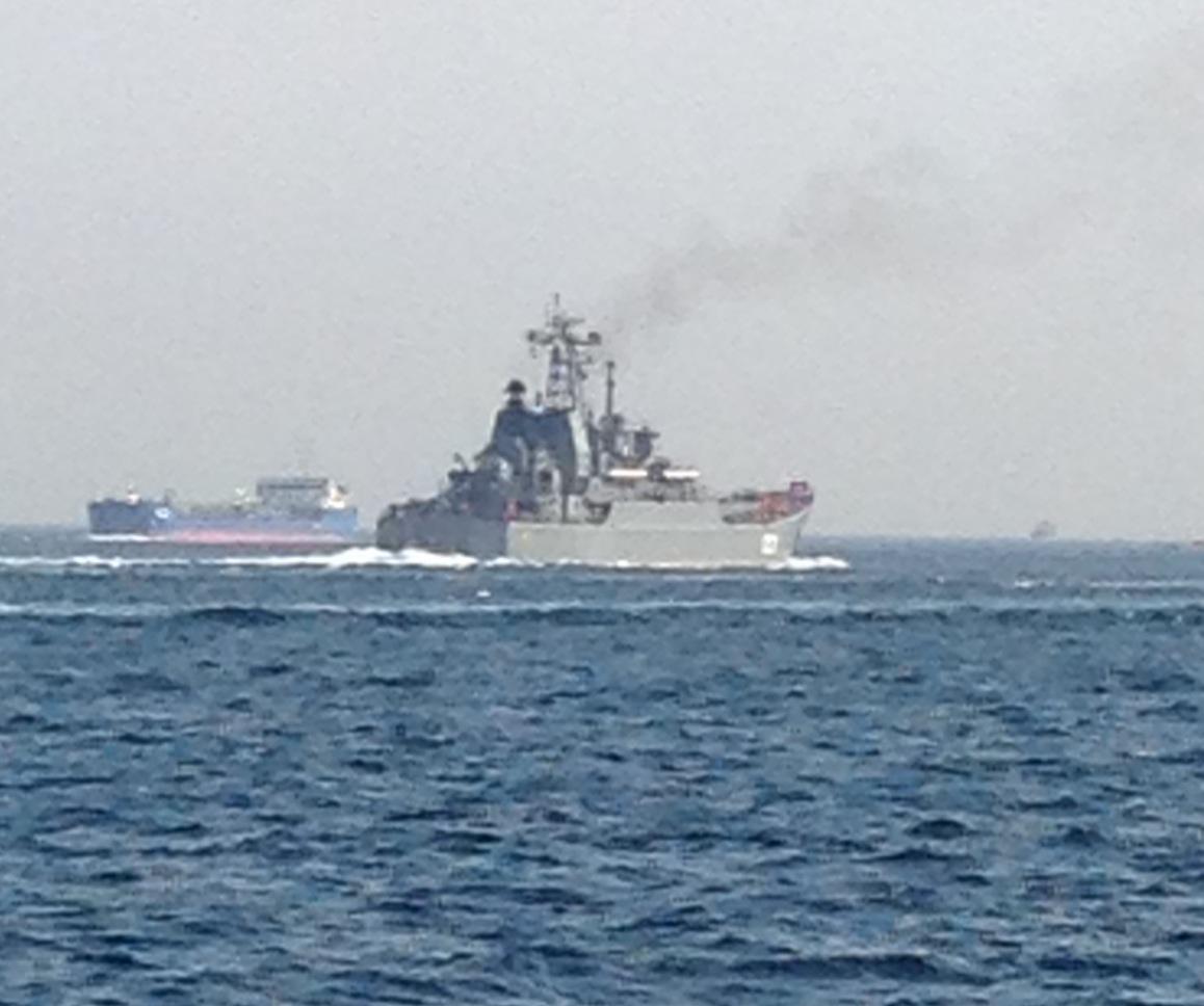 Ruslar Akdeniz'e inmeye devam ediyor