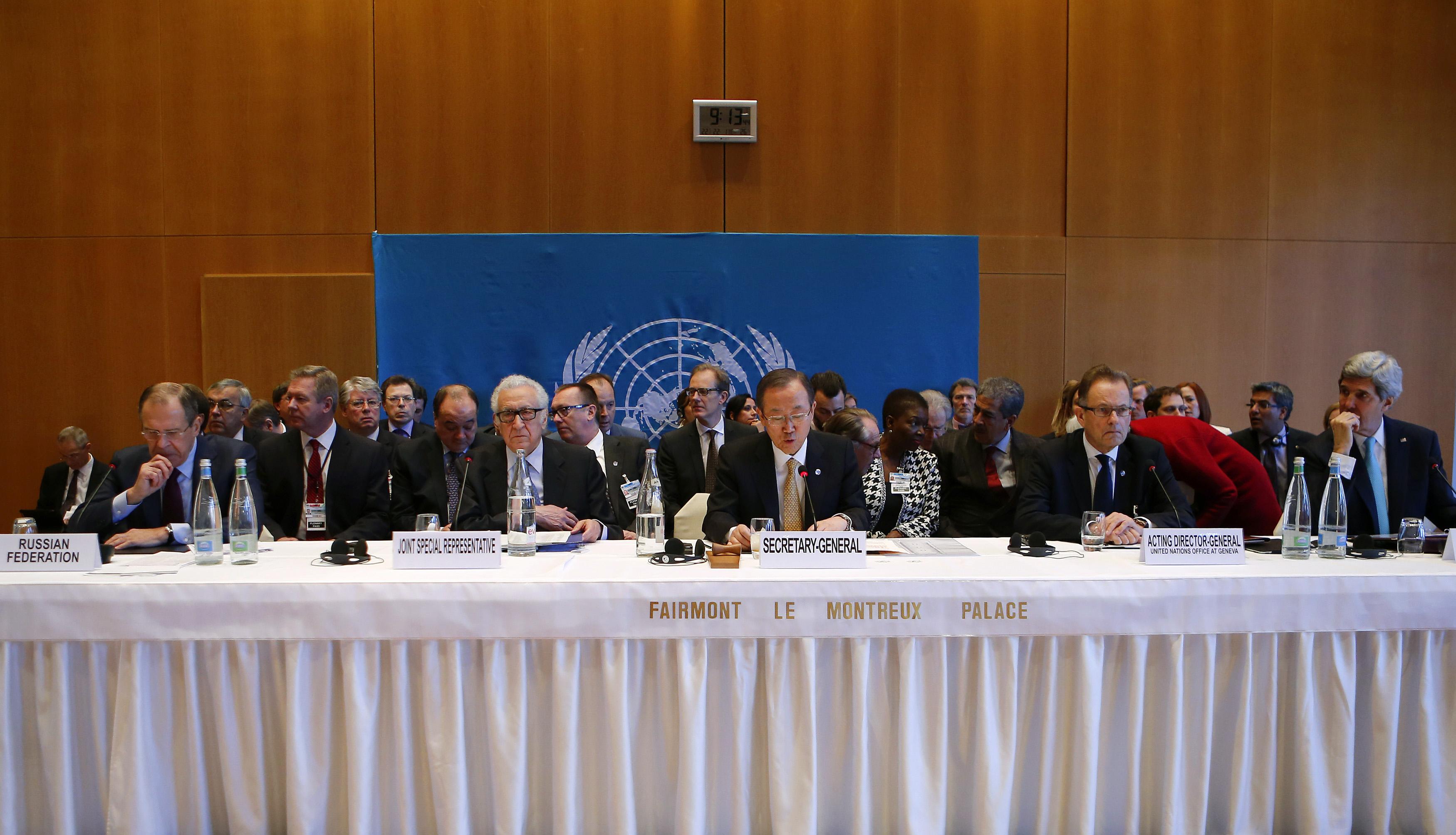 Suriye görüşmelerinde liste muamması
