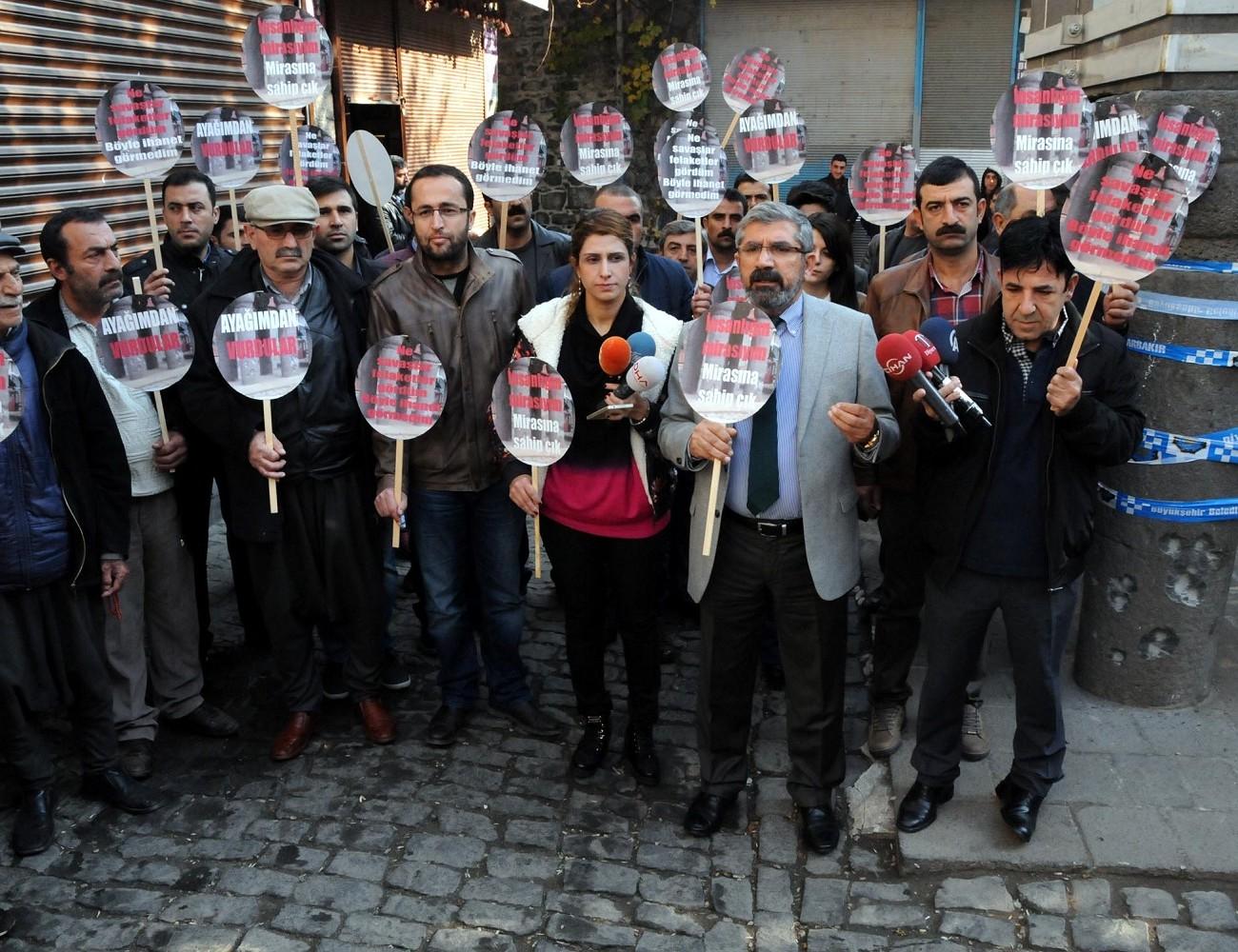 Diyarbakır Barosu: Tahir Elçi'yi aldığınız yerdeyiz