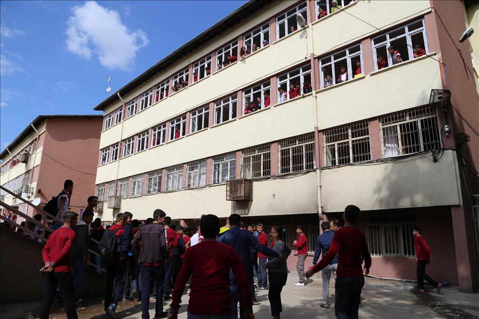 Diyarbakır'da okul bahçesinde patlama: 5 çocuk yaralandı