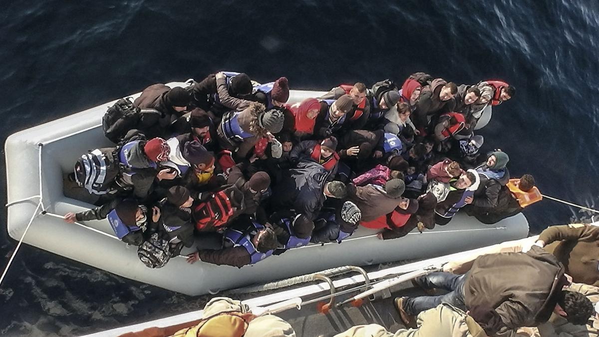 Göçmenlerin trajedilerinin boyutları ancak hayal edilebilir