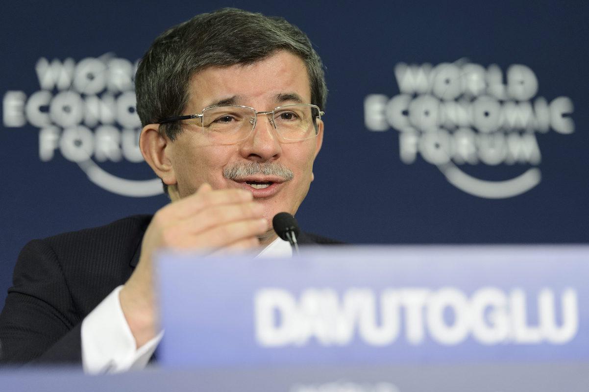 Davutoğlu, Davos'ta