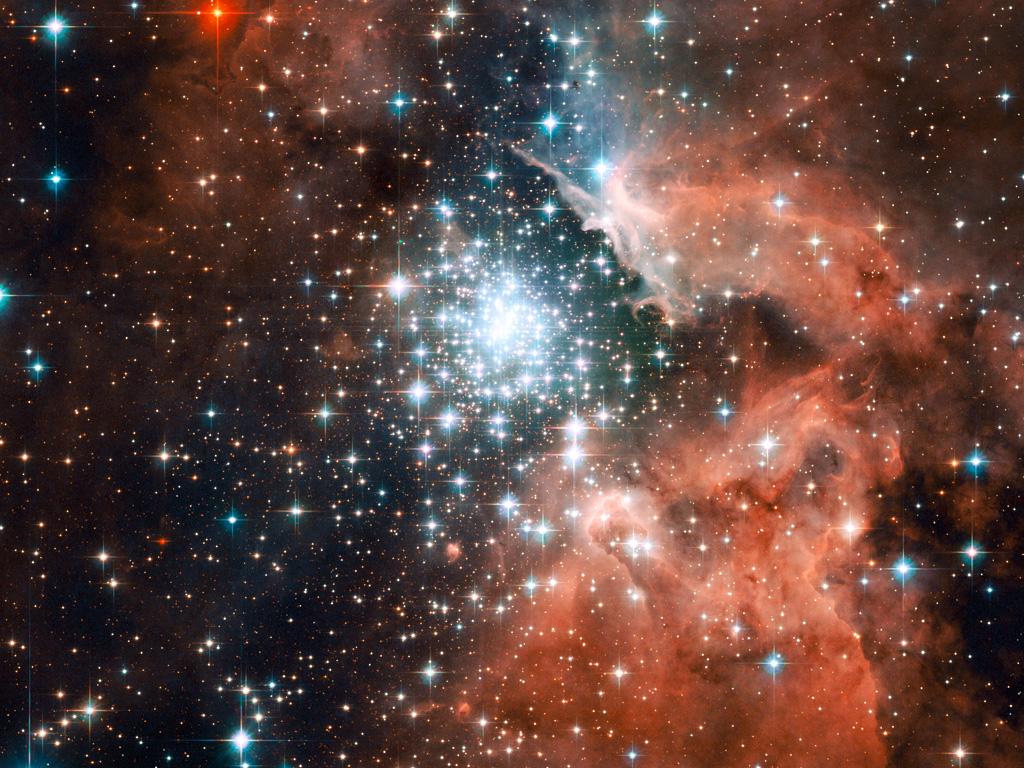 Hubble'den olağanüstü yıldız kümesi fotoğrafları