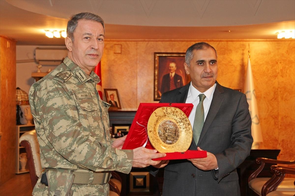 Genelkurmay Başkanı Mardin'de